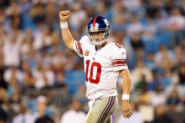 Giants vs. Panthers: New York's Winners and Losers from Its 36-7 Blowout Victory