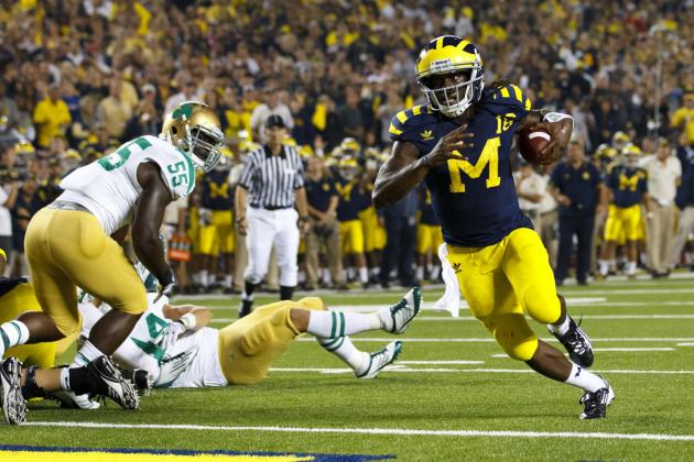 Michigan vs. Notre Dame: Will Irish Prevail vs. Denard Robinson and Wolverines?
