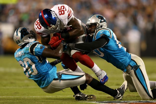 5 Biggest Studs in New York Giants' Beatdown of Carolina Panthers