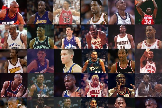 Legends of the NBA: 25 Best Players of the 90s