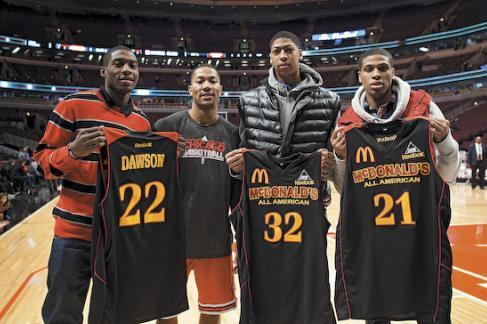 Derrick Rose, Anthony Davis, and 8 Other Former Chicago Prep Stars Since 2005