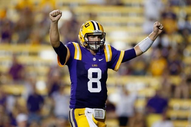 LSU vs. Auburn: Why QB Zach Mettenberger Will Flop in First SEC Road Test