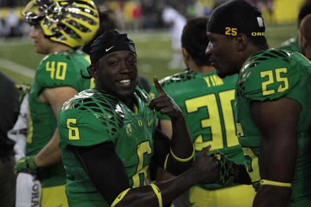 Who DAT?: 5 Reasons Oregon's De'Anthony Thomas Is a 1st-Round NFL Draft Pick