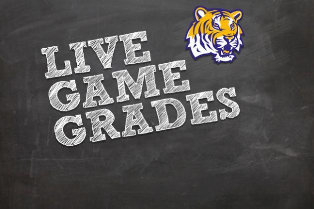 LSU vs. Auburn: Postgame Grades from the LSU Win over Auburn