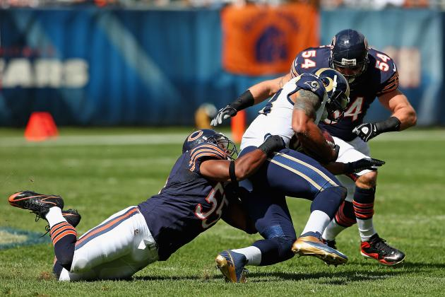 Chicago Bears: Top 5 Performers in Sunday's Victory over the St. Louis Rams