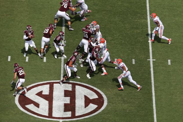 SEC College Football Rankings: Where Texas A&M Ranks in New Conference