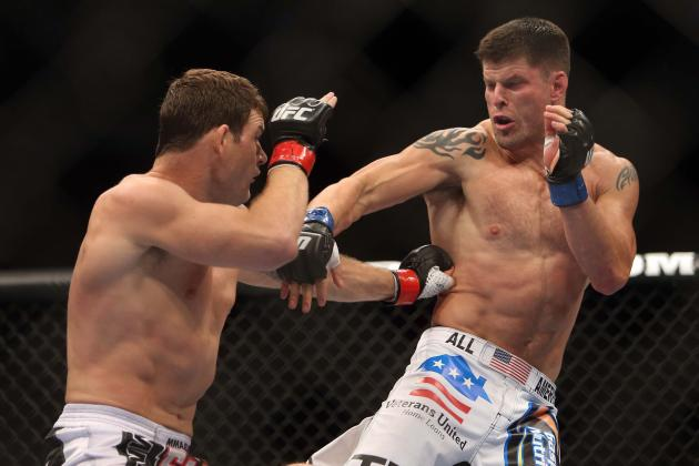 Michael Bisping vs. Brian Stann: 5 Fights for Stann to Take Next
