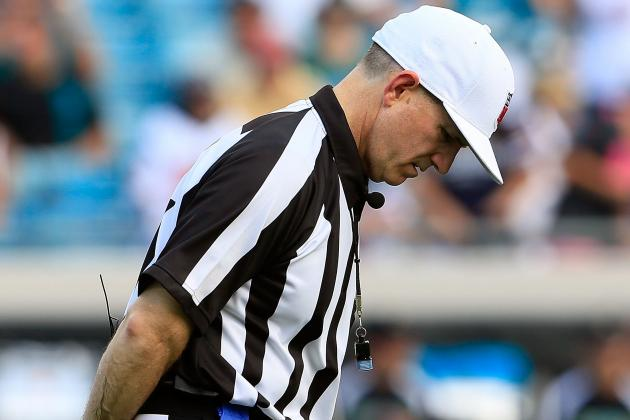NFL Replacement Officials: How Many Games Do the Rent-a-Refs Have Left?