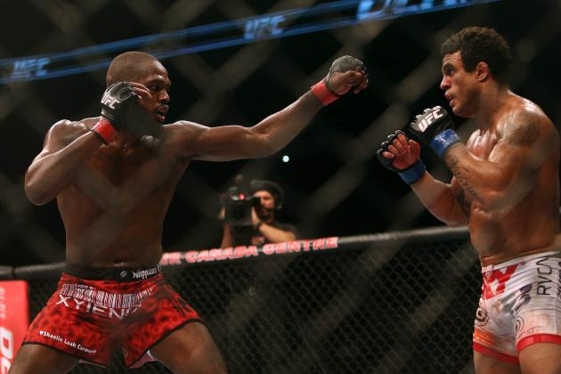 Jon Jones vs Vitor Belfort: Breaking Down the FightMetric Numbers
