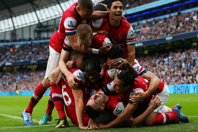 Manchester City vs. Arsenal: Player Ratings for Both Teams at the Etihad