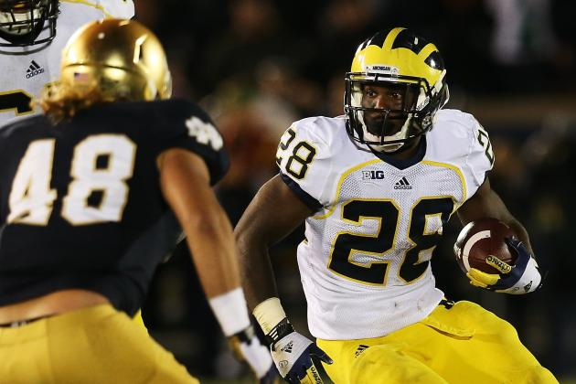 Michigan vs. Notre Dame: Grading All Wolverines Starters on Offense and Defense