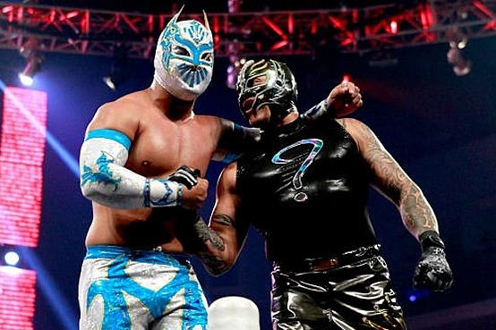Daniel Bryan and Kane vs. Rey Mysterio and Sin Cara Can Revive Tag Team Division