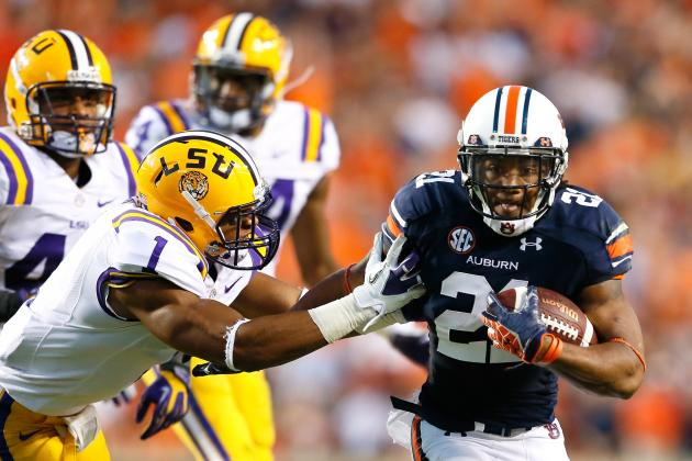 Auburn Football: Grading All 22 Starters from the LSU Game