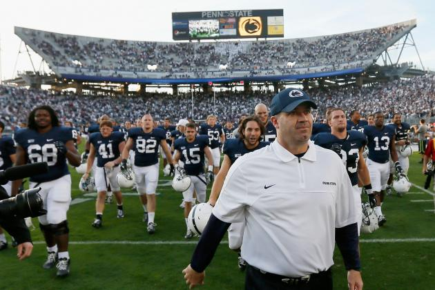 Penn State Football: Grading All 22 Starters from the Temple Game