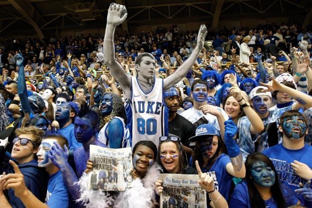 Ranking the Best Student Sections in College Basketball