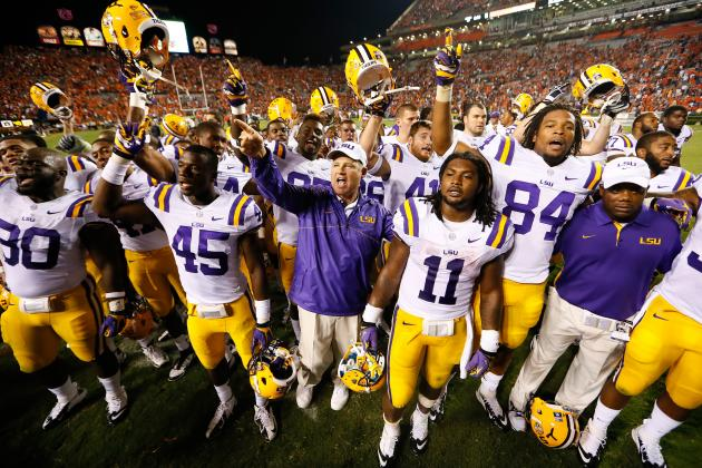 LSU Football: After Auburn Struggle, Could Tigers Lose Before Alabama?