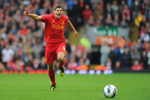 Steven Gerrard and the EPL Players of the Week