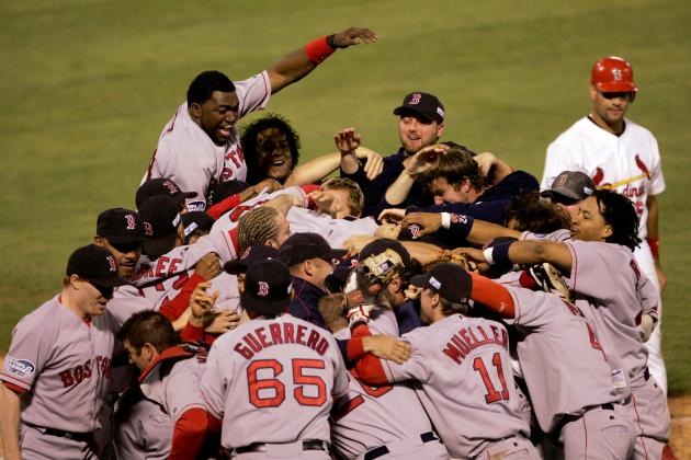 The 7 Greatest Celebration Moments in MLB Postseason History