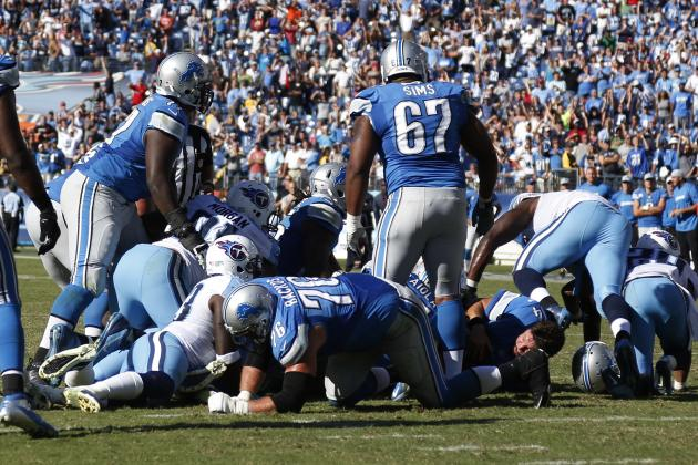 Detroit Lions Stock Up, Stock Down After Sunday's Loss to Tennessee