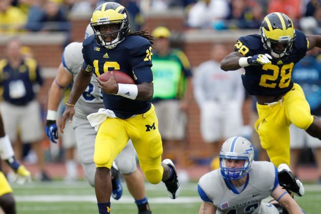 Michigan Football Player Power Rankings: First Quarter of the Season Edition