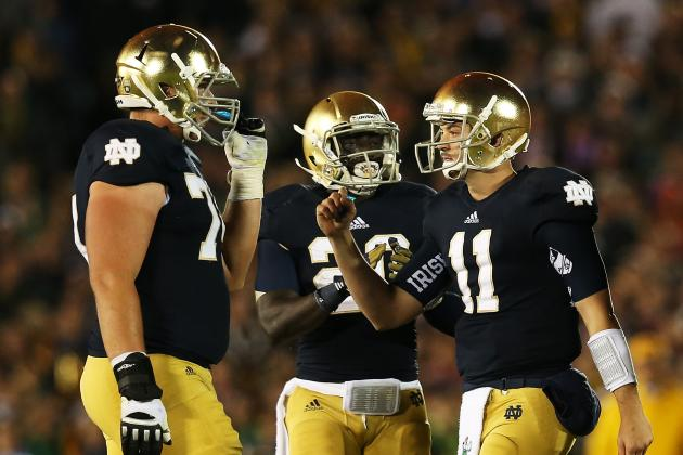 Notre Dame Football: Grades for the Positional Units at the 1st-Quarter Mark