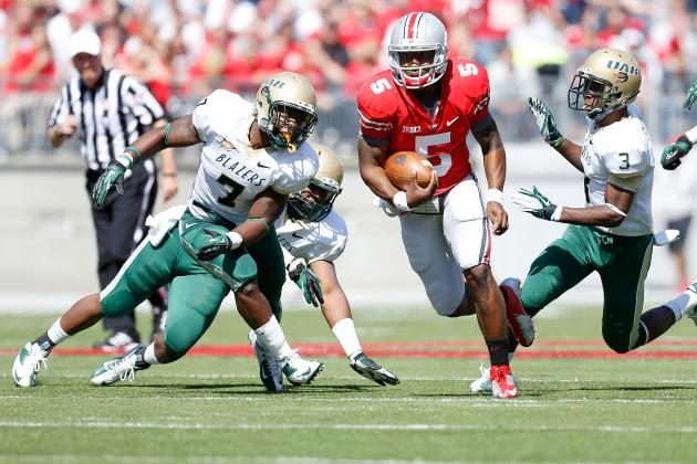 Ohio State Football: Ranking the Buckeyes' Top Performers of September