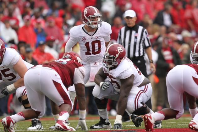 Alabama Football Player Power Rankings: First Quarter of the Season