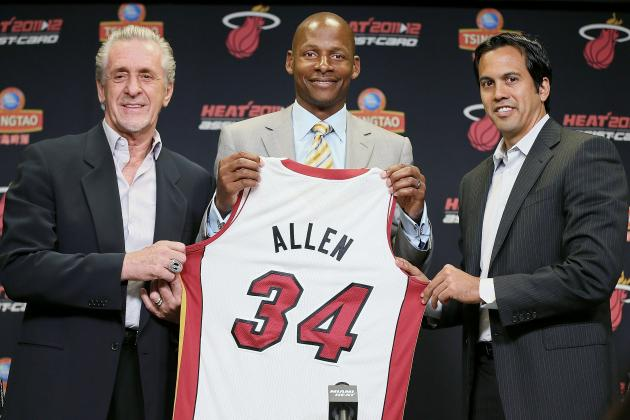 Miami Heat: 4 Reasons Ray Allen Will Shine in South Beach