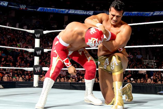 WWE: Top 5 Moments of Tension Between Alberto Del Rio and Sin Cara