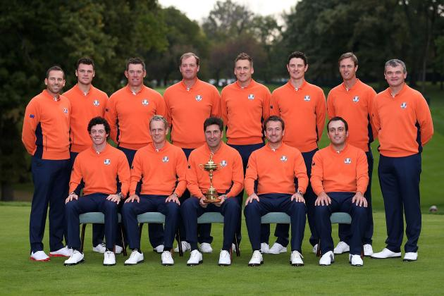 Europe Ryder Cup Team 2012: Team Roster, Captain's Picks and Selections