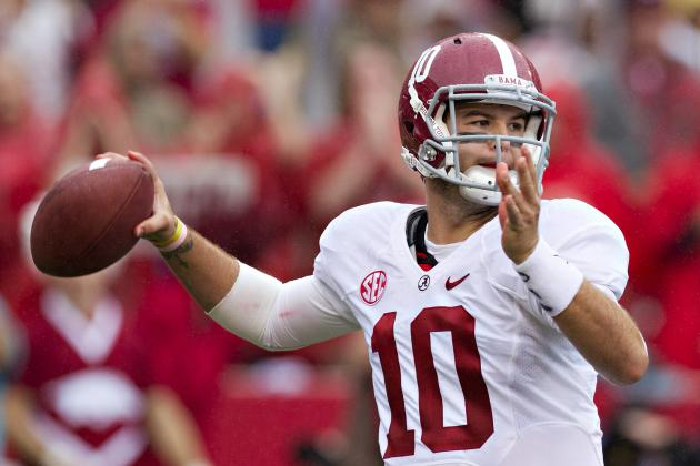 Power Ranking the SEC Quarterbacks After 4 Weeks