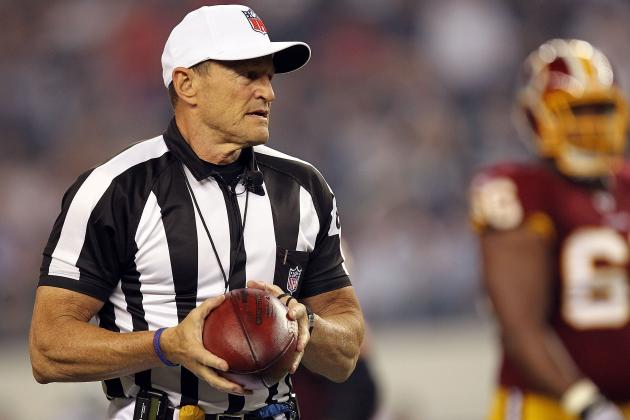 NFL Referees: 7 Things You Can Expect to See with Regular Refs Back