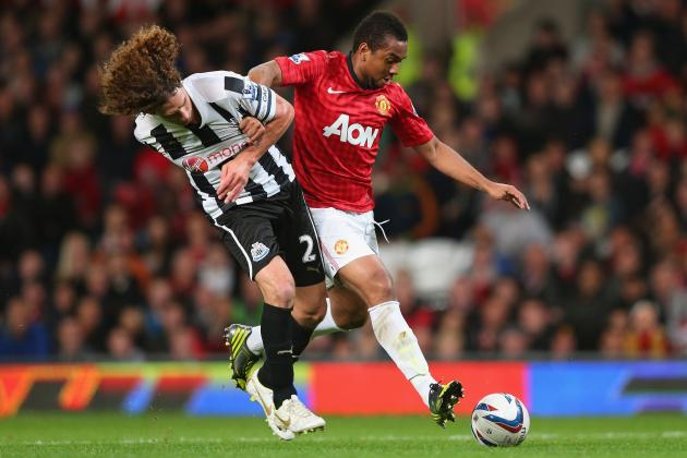 Man United vs. Newcastle: Player Ratings in Red Devils' 2-1 Capital One Cup Win