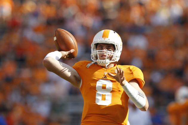 Tennessee vs. Georgia: Breaking Down QB Battle of Tyler Bray and Aaron Murray