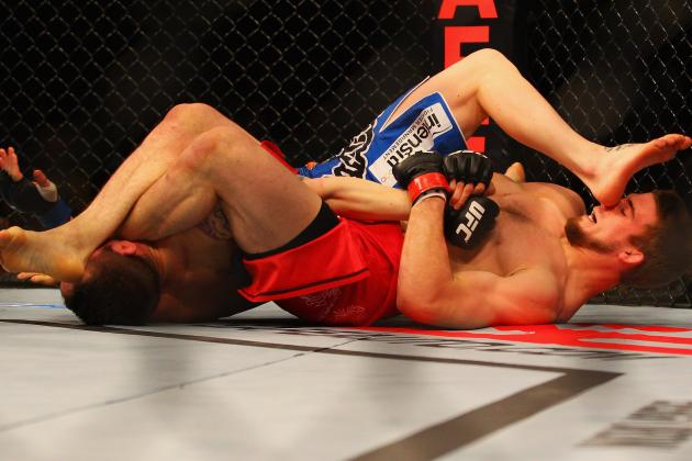 10 Rarely-Seen Submissions in Professional MMA