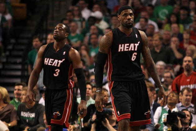 Top 10 LeBron James-Dwyane Wade Highlights from 2011-12