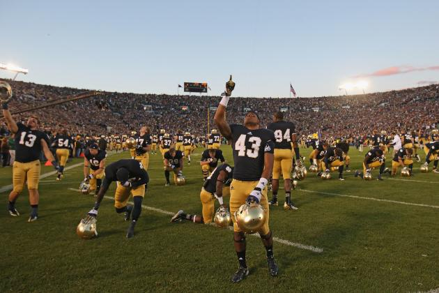 Notre Dame Football: Why Tough October Schedule Will Be Irish's Downfall