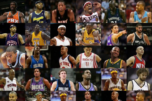 Legends of the NBA: 25 Best Players of the 2000s