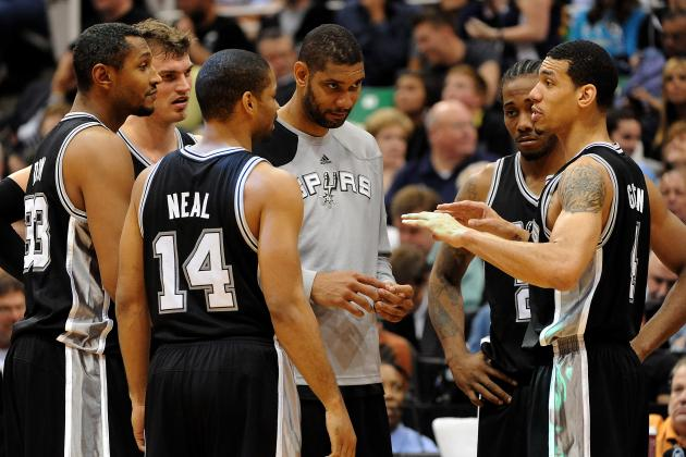 Ranking the San Antonio Spurs' Role Players by Importance