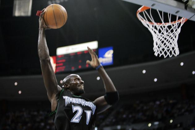 The Top 5 Most Amazing Dunkers in Minnesota Timberwolves History