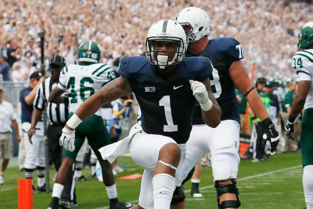 Penn State: Breaking Down the 2012 Offensive 'Replacements' Through 4 Games