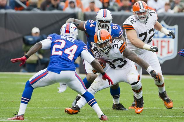 Trent Richardson and the 6 Most Exciting RBs in the NFL