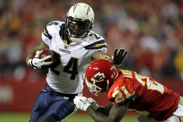 San Diego Chargers: Stat Projections for Starters and Key Reserves vs. Chiefs