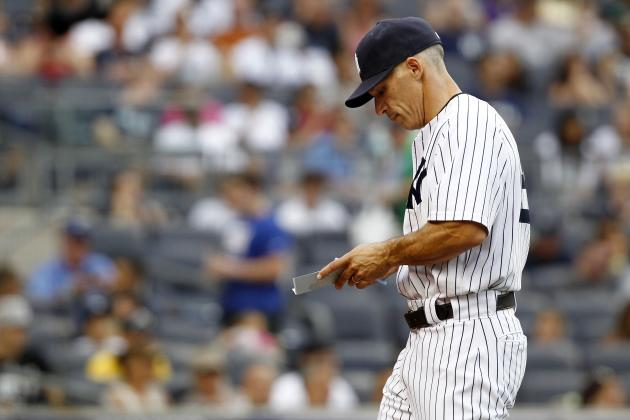 5 Ideas for New York Yankees Manager Joe Girardi for Final 5 Games