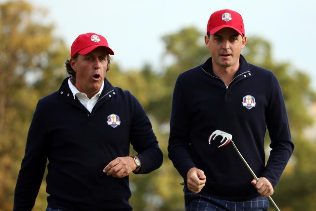 Ryder Cup 2012: Power Ranking the Best Performances from Day 1