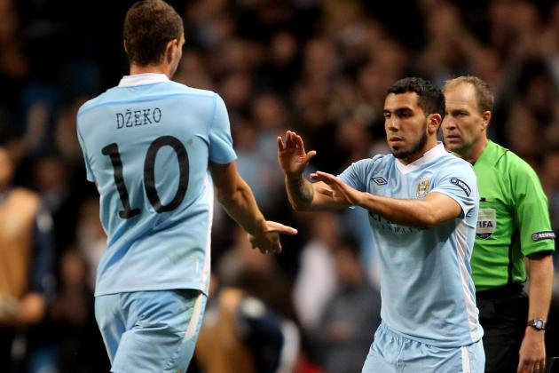 Manchester City: How to Solve the Tevez-Balotelli-Dzeko Conundrum