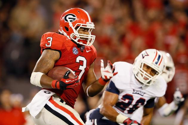 Tennessee vs Georgia: 5 Reasons Why Todd Gurley's Great