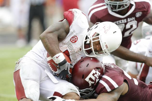 Arkansas Football: Comparing Razorbacks' 2012 Implosion to Alabama's in 2000