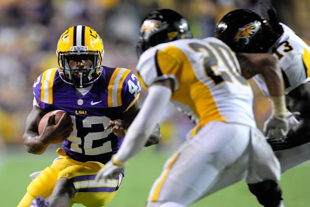 LSU Football: 10 Things We Learned from LSU's Win vs. Towson