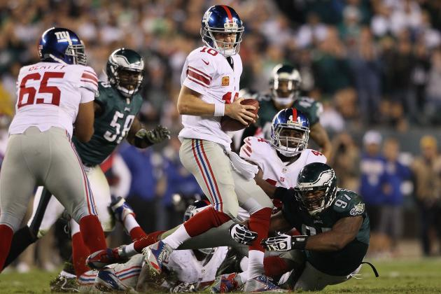 Giants vs. Eagles: Final Report Card, Player Grades for New York